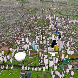 3D toronto city