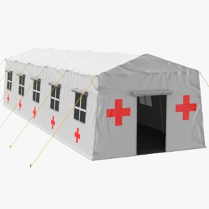 real medical tent model