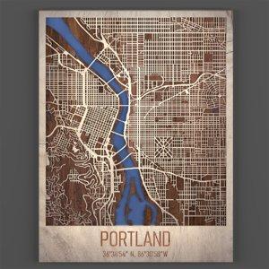 3D model portland master plan modeled