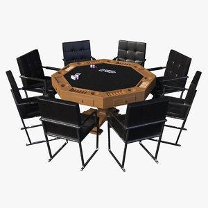 poker table model