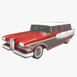 edsel bermuda 1958 3D model