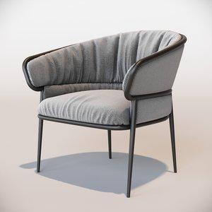 shu ying armchair 3D model