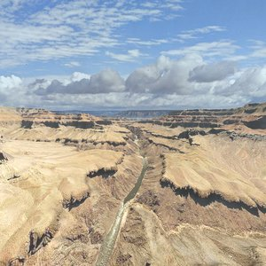 grandcanyon canyon model