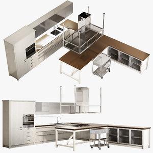 3D realistic kitchen diesel social