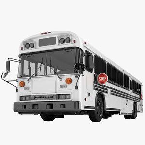 school bus 2000 3D model
