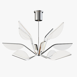 pendant light belterra chandelier 3D model