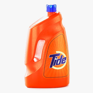 tide detergent bottle 3D