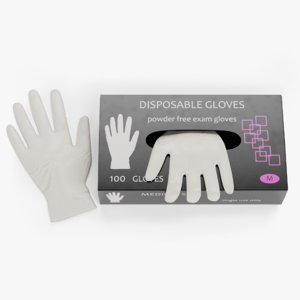 disposable gloves box 3D model
