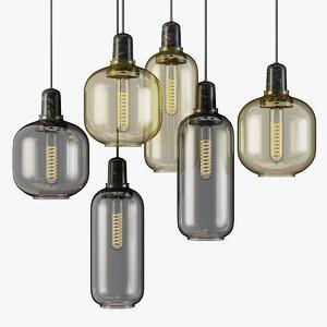 pendant lamp amp normann 3D