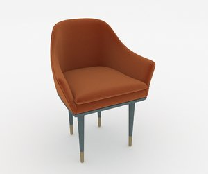 chair armchair seat model