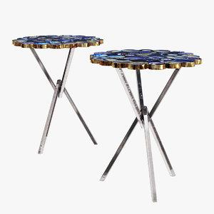 3D tripod table model