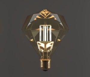 3D model electric diamond