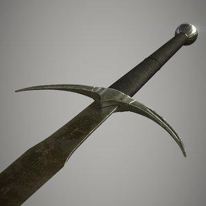 3D danish sword blade
