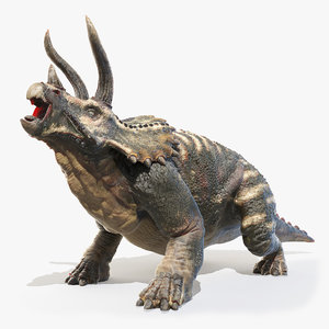 triceratops horns 3D