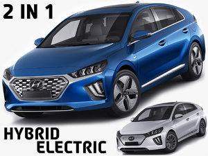 hybrid electric 3D model