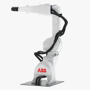 robot paint irb 3D model