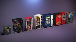 3D vending machine pack