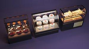 3D fresh cabinet model