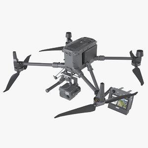 photoreal drone dji matrice model