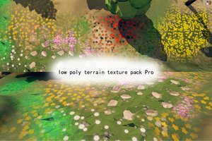 low poly terrain texture pack Pro