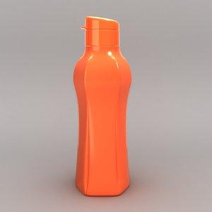 3D tupperware inspired bottle