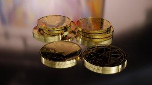 20 coin 3D model