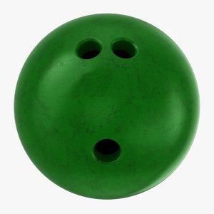 bowling ball large 3D model