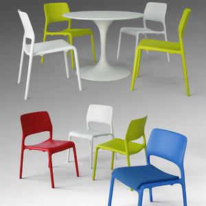 max spark series chair saarinen