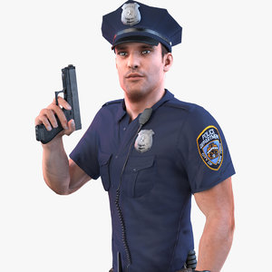 police officer ultra 2020 3D