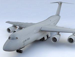 3D aircraft air transport