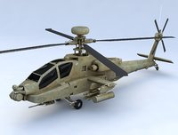Boeing AH 64 Apache Attack Helicopter