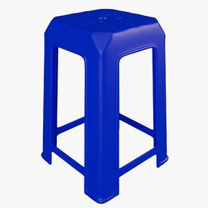 plastic stool model
