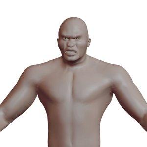 3D adult ogre
