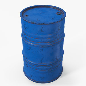 3D barrel contains metallic