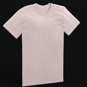 plain t-shirt model