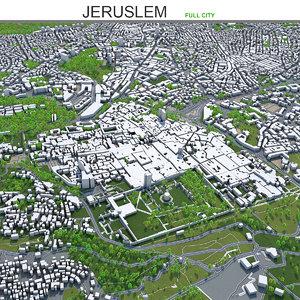 city 60km 3D model