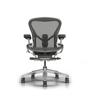 3D herman miller office chair