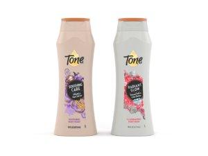 3D tone body wash