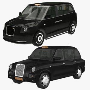 london taxi 3D model