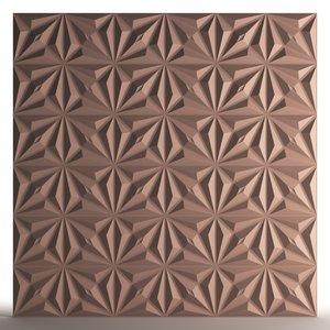 3D habitarte wall form panels model