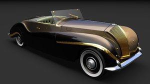 3D vutotal labourdette cabriolet