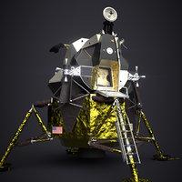 Apollo 11 Lunar Module - PBR Game Ready
