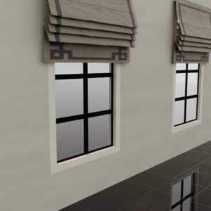 3D window cover