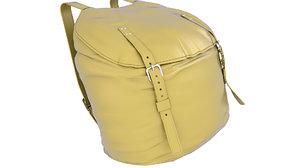 backpack bag camping 3D model