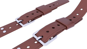belt fashion 3D