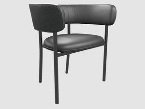 3D font regular armchair mobel
