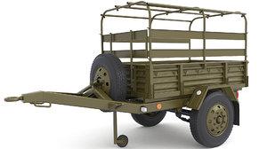trailer parts 3D model