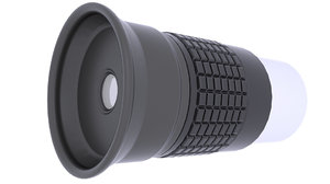 telescope scope eyepiece 3D model