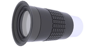 telescope scope eyepiece 3D