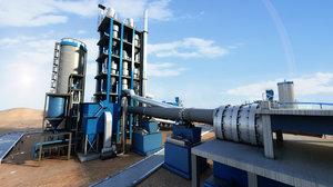 cement plant 3D